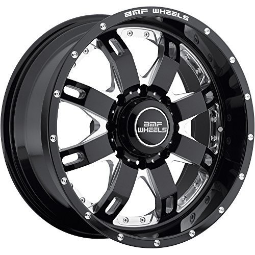BMF REPR 20 Black Wheel / Rim 8x170 with a -19mm Offset and a 125.2 Hub Bore. Partnumber 665B-010817019 (Bmf Rims)