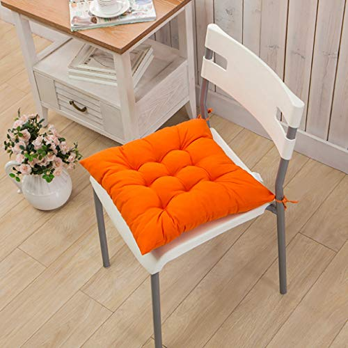 RXIN Chair Seat Pads With Cord For Patio Home Car Sofa Office Decoration Square Solid Seat Cushion Drop Shipping 40cmx40cm by RXIN