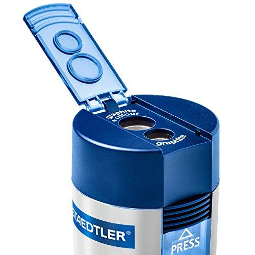 Staedtler 512 001 ST Double-hole Tub Pencil Sharpener by Staedtler (Image #1)