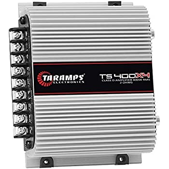 Taramps TS400X4 Tara Class D 400 W RMS 4-Channel Car Amplifier