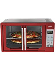 Oster TSSTTVFDDG-R French Door Toaster Oven, Red
