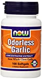 Cheap NOW Odorless Garlic,100 Softgels