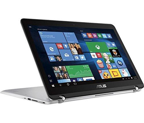 ASUS High Performance Premium 15.6-Inch 2-in-1 Touchscreen Full HD Laptop, (Intel Core i5-6200U, 12GB RAM, 1TB HDD, Backlit Keyboard, WIFI, HDMI, Bluetooth, Windows 10)  Silver