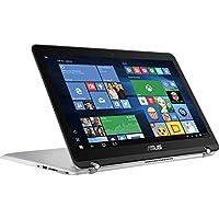 ASUS High Performance 15.6-Inch 2-in-1 Touchscreen Full HD Laptop, (Intel Core i5-6200U, 12GB RAM, 1TB HDD, Backlit Keyboard, WIFI, HDMI, Bluetooth, Windows 10) Silver