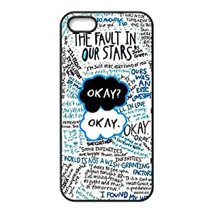 Okay The Fault In Our Stars Black Phone Case for iPhone 5S