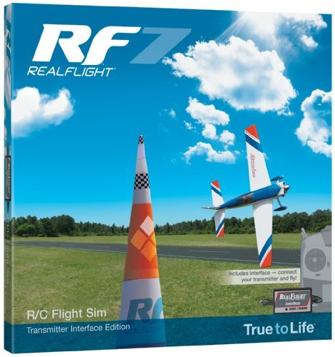 Great Planes RF7 Vehicle with Interface Model: GPMZ4504