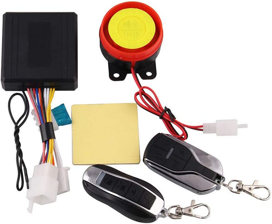 Motorcycle Alarm Gadget Anti Robbery Protection With Double Remote Control