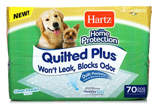 - Hartz Home Protection Quilted Plus Clean Powder Scented Dog Pads - 70 Count