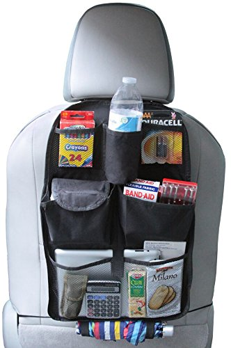 3 in 1 Collapsible Trunk Organizer & Cooler & Auto Seat Organizer Folding Flat Trunk Organizer
