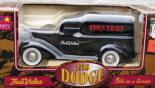 Liberty Classics TRUE VALUE TRU-TEST #5 1936 DODGE Delivery Truck Bank in 1:25 Scale Diecast Metall