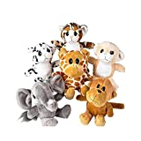 6'' Baby Animals Plush (With Sticky Notes)