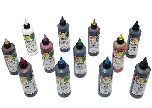 Chefmaster Airbrush Variety Pack, Twelve 9 Ounce Bottles