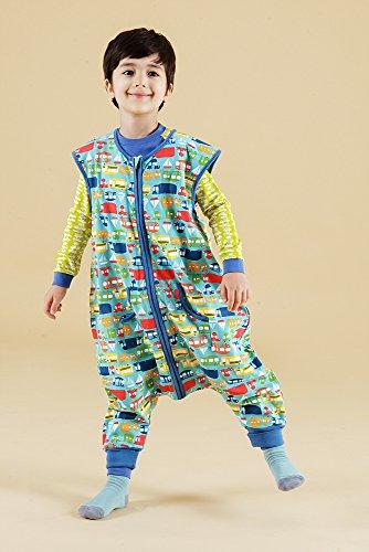 Vaenait baby Kids Boys Double-Layered Cotton Wearable Blanket Sleeper Sleep Travel S by Vaenait baby (Image #3)