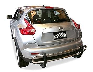 wynntech parachoques trasero protector para 2011 - 2017 Nissan Juke - doble tubo acero inoxidable: Amazon.es: Coche y moto