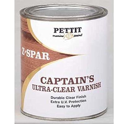 Pettit Captain's Ultra Clear Varnish Quart