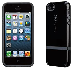 Speck Products CandyShell Flip Dockable Case for iPhone 5 & 5S - Black/Slate Grey
