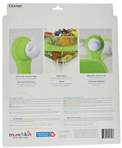 Munchkin Corner Bath Toy Basket (colors vary) by Munchkin (Image #3)