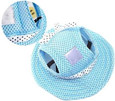 Cap de ala Redonda para Mascotas Gorra con Visera del Sombrero del ...