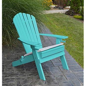 Amazon Com Polywood Adirondack Chair Folding 2 Two Cup