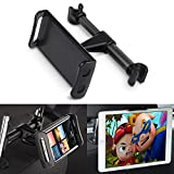 Iteasier iPad Tablet Holder Stand, Cell Phone Mount for Car Back Seat Headrest for 4.0-11inches Tablet/ Smart Phone/ Apple iPhone 7/ 6/ iPad Mini/ iPad 2 3 4/ iPad Air/ iPad Pro etc
