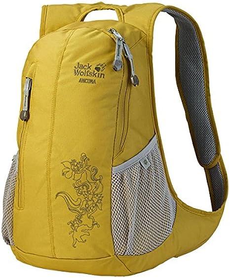 Jack Wolfskin Ancona Backpack Yellow yellow moss Size ...
