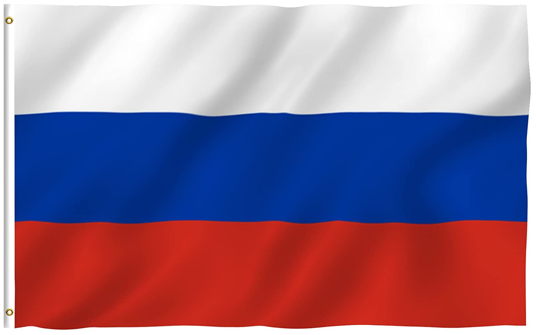 amazon com anley fly breeze 3x5 foot russia flag vivid color