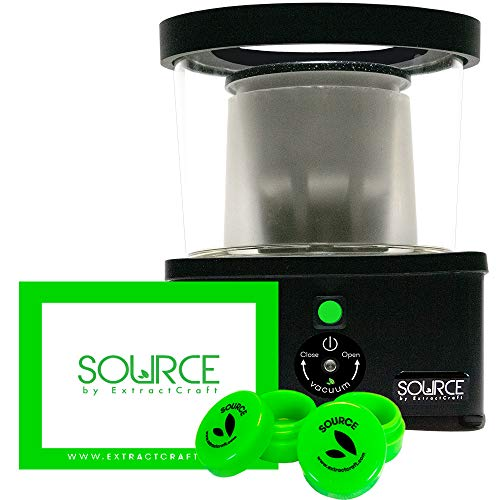 Source Turbo by ExtractCraft With a Platinum Grade Silicone Mat & Two Silicone Storage Containers