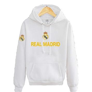 Sudadera Real Madrid No.7 C Ronaldo Soccer Club Round Cuello Regalo de fútbol de Manga Larga para Hombres y Mujeres Niños Niñas: Amazon.es: Deportes y aire ...