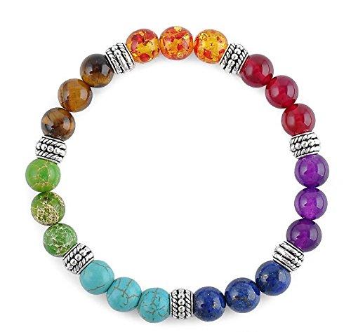 7 Chakra Beaded Bracelet