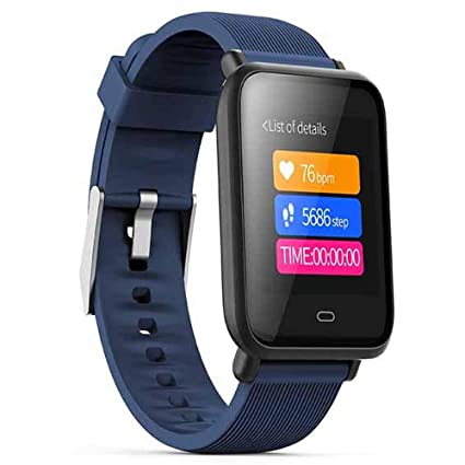 Middons Touch Bluetooth Smart Watch Fitness Activity Tracker Step Counting Heart Rate Monitoring IP67waterproof etc Compatible with iPhone iOS Samsung ...