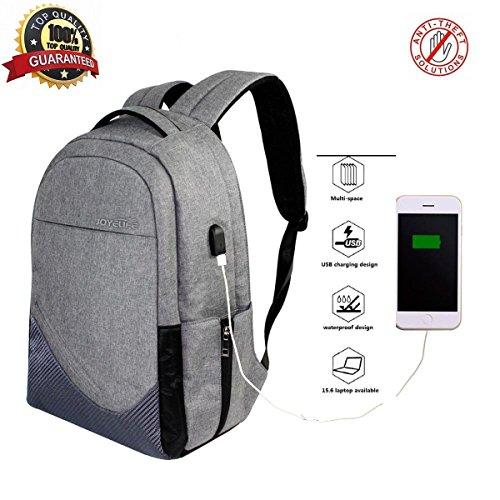 Travel Outdoor Computer Backpack Laptop bag 15.6''(grey) - 8