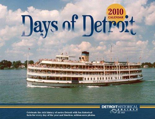 2010 Days of Detroit Wall (Park 2010 Wall Calendar)