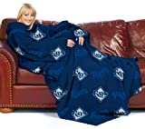 MLB Tampa Bay Rays Comfy Throw Blanket with Sleeves