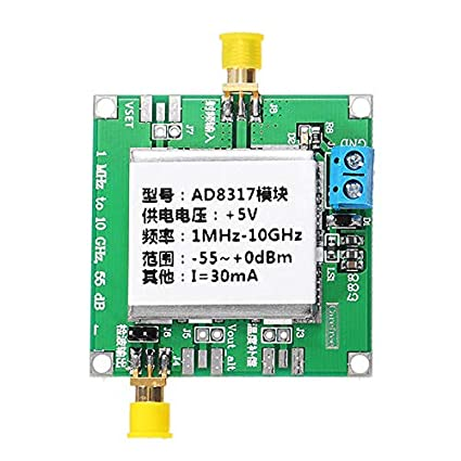 DC5V AD8317 Module RF Power Meter Logarithmic Detector Power