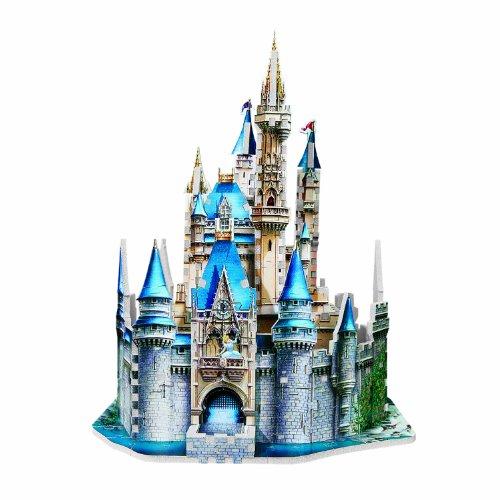 Amazon Cinderellas 3d Castle 200 Piece Puzzle Toys Games