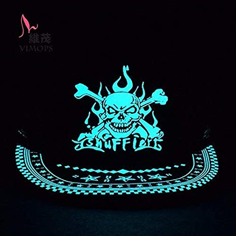 Buy Glow in Dark Anime One Piece Luffy Shuffle Skull Pirate Baseball Sport  Gorras Snapback Cap Hats - Adult Size Online at Low Prices in India -  Amazon.in 7dc5b22ec82