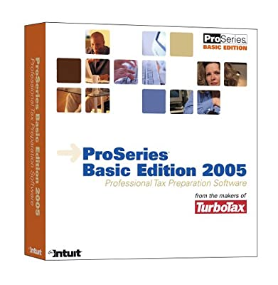 ProSeries Basic Edition 2005 Professional Tax Preparation