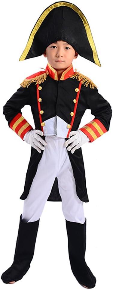 LOLANTA Disfraz de Pirata Capitán Jack para niños Disfraz de ...