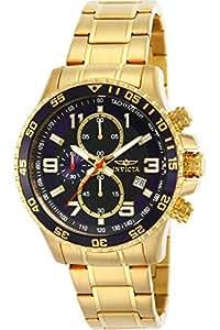 Amazon.com: Reloj chapado en oro ionizado 14878, para hombre ...