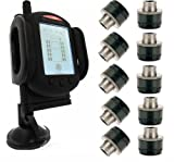 Tire Pressure Monitoring System for RVs and Trucks with 10 Sensors