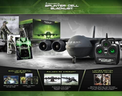 Tom Clancy's Splinter Cell Blacklist Paladin Multi-Mission Aircraft Edition - Playstation 3 (Collector's) [並行輸入品]