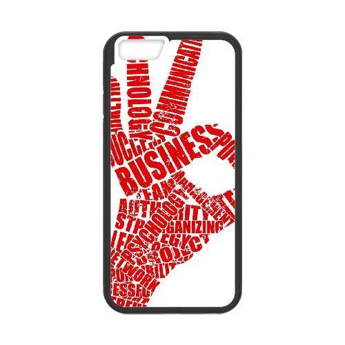 """SYYCH Phone case Of Fashion Design Hand Gesture 1 Cover Case For iPhone 6 Plus (5.5"""")"""