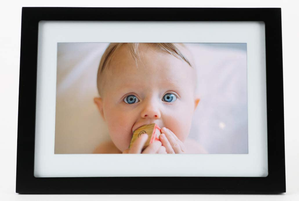 Skylight Frame: 10 inch WiFi Digital Picture Frame, Email Photos from Anywhere, Touch Screen Display : Camera & Photo