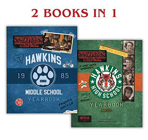 Hawkins Middle School Yearbook/Hawkins High School Yearbook (Stranger Things) by [Gilbert, Matthew J.]