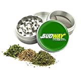 Best Weed Grinders - Bud Way Design -42 mm- 4Pcs Small Size Review