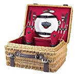 NBA New Orleans Pelicans Champion Picnic Basket, One Size, Red