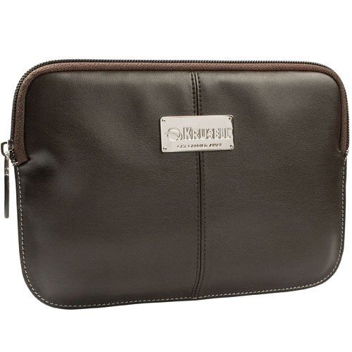 Krusell Luna Sleeve for iPad Mini, Amazon Kindle Fire, Acer Iconia TAB A100, Google Nexus 7, Blackberry Playbook, Samsung Galaxy Tab 7.0 Plus and Other Tablets/Readers up to 7-Inch - Brown/Cream (71187)