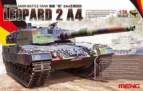 Leopard 2 Main Battle Tank (Meng Leopard German Main Battle Tank Model Kit)