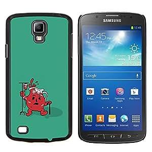 Qstar Arte & diseño plástico duro Fundas Cover Cubre Hard Case Cover para Samsung Galaxy S4 Active i9295 (Divertido Ayuda Jug fresca)