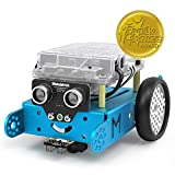Makeblock mBot Robot Kit, DIY Mechanical Building Block, STEM Education, Entry-Level Programming Improves Kids' Logical Thinking and Creativity, Compatible with LEGO(Blue, Bluetooth Version, Family)